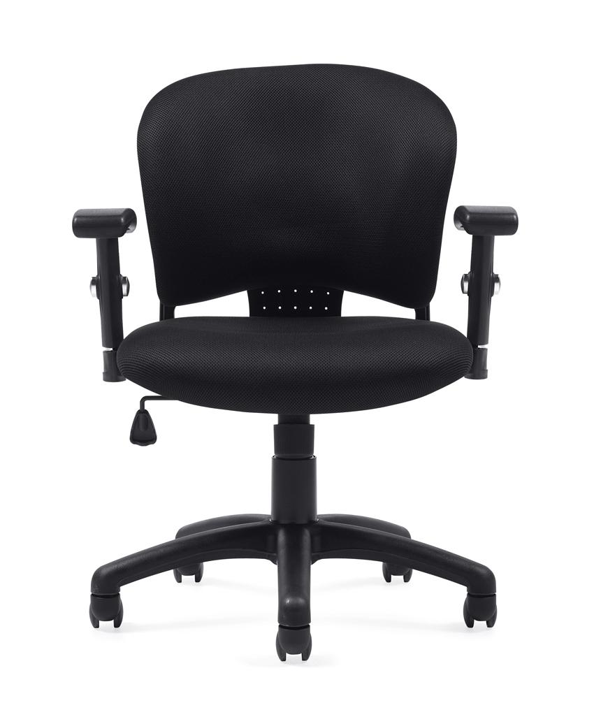 Pleasant Seating Otg11800B Air Mesh Fabric Tilter Chair Theyellowbook Wood Chair Design Ideas Theyellowbookinfo
