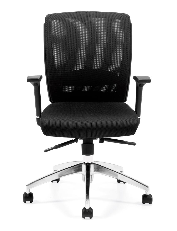Swell Seating Otg10904B Mesh Back Synchro Tilt Executive Chair Theyellowbook Wood Chair Design Ideas Theyellowbookinfo