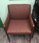 Burgundy Guest Chair