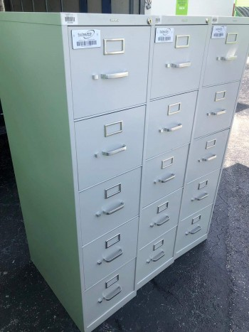 5 Drawer Vertical File Cabinets