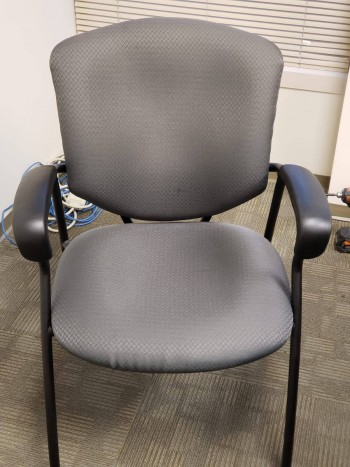 Dark Gray Guest Chair