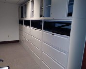File cabinets with extra storage