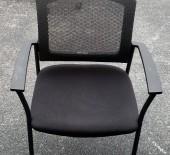 Black Mesh Back Guest Chair