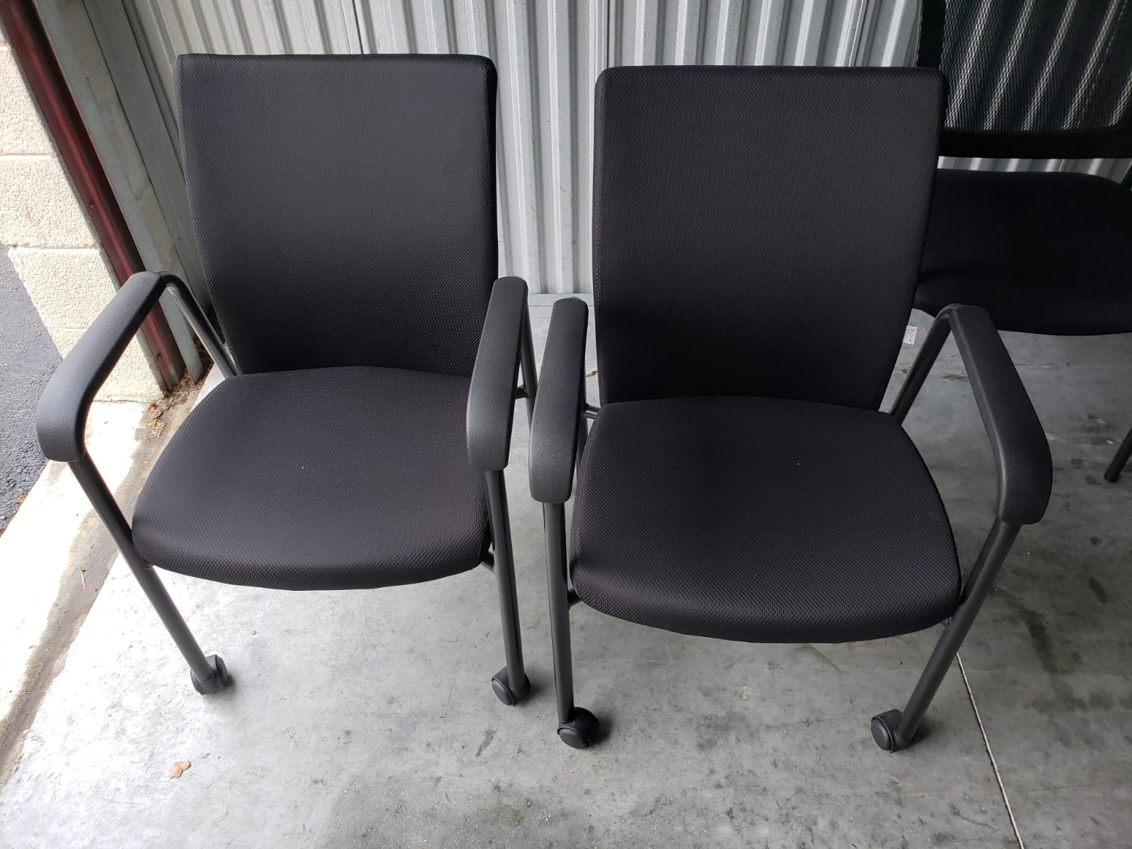 Guest Chair with wheels
