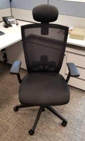 Office Chair with Neck Support
