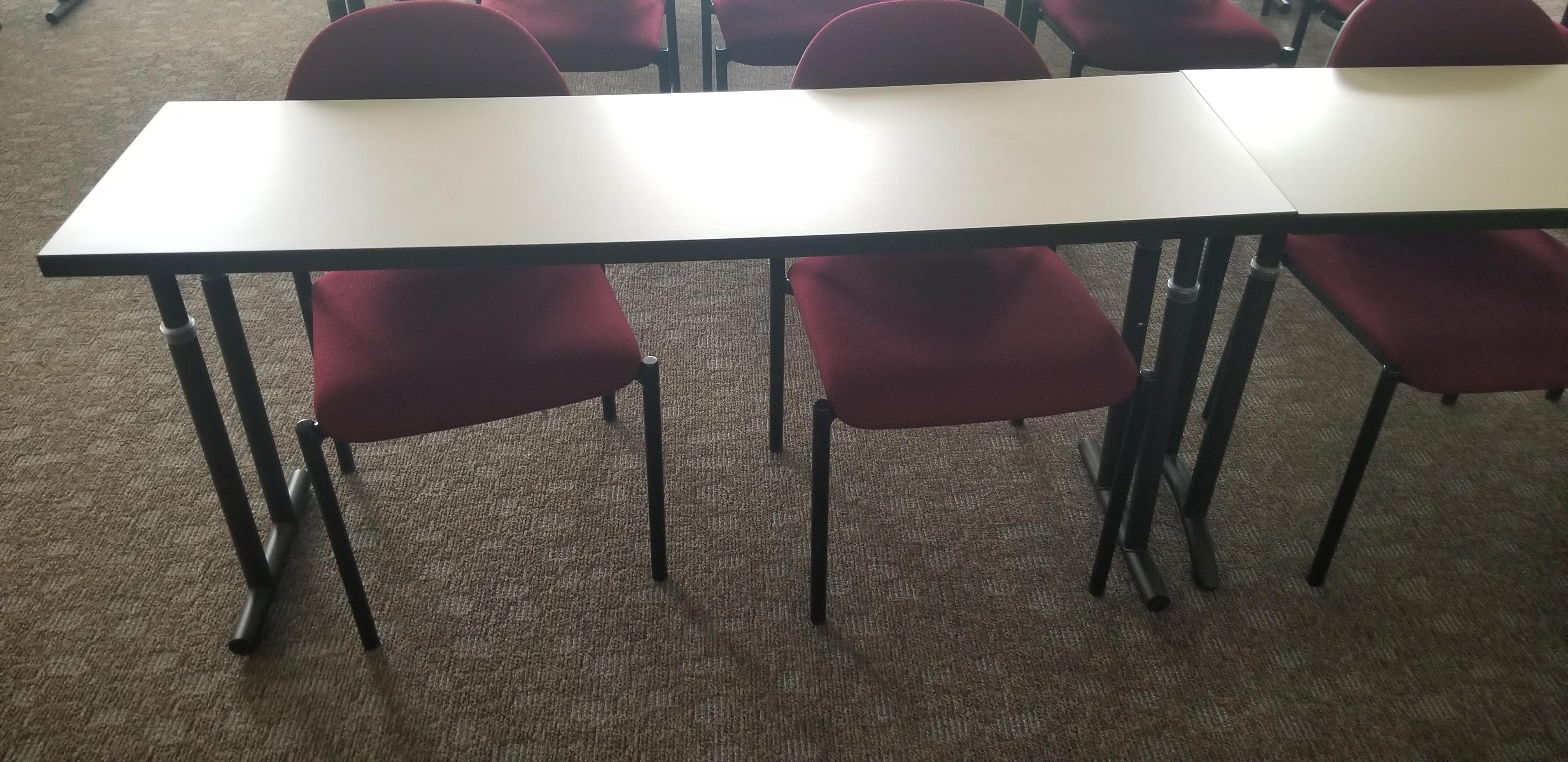 Adjustable Leg Training Table