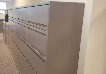 5 - Drawer Lateral File Cabinets