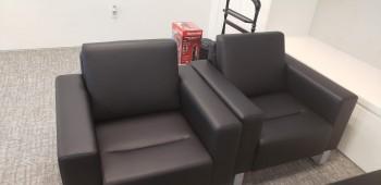 Black Guest Sofa