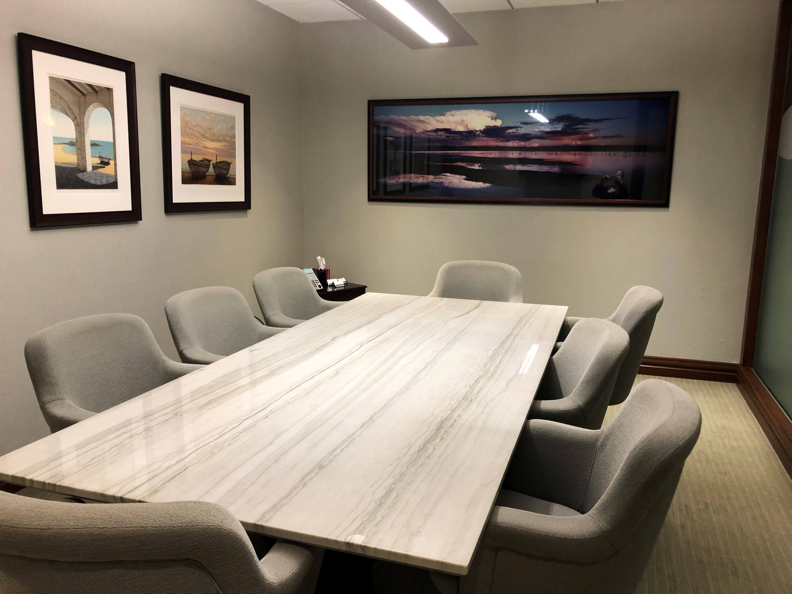 12 ft Granite Conference table
