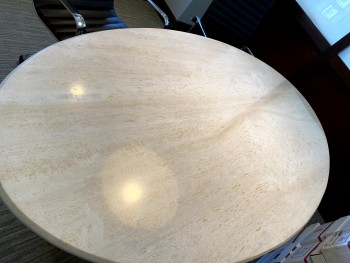 7ft Marble Table