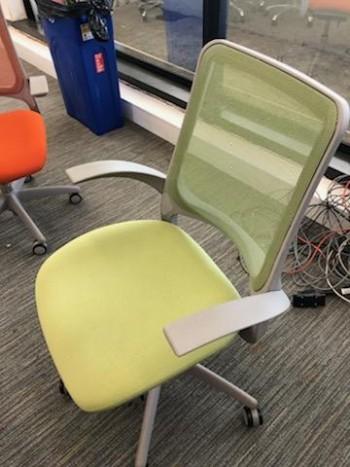 Mesh Chair - Green