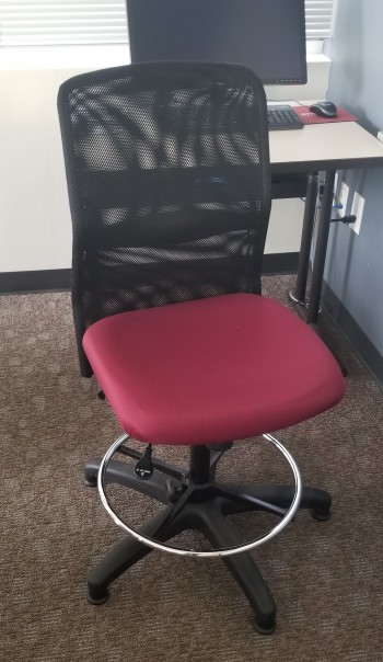 Mesh Back Teller Chair