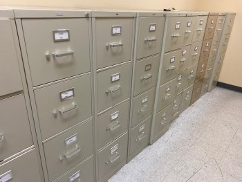 4-drawer vertical file cabinets
