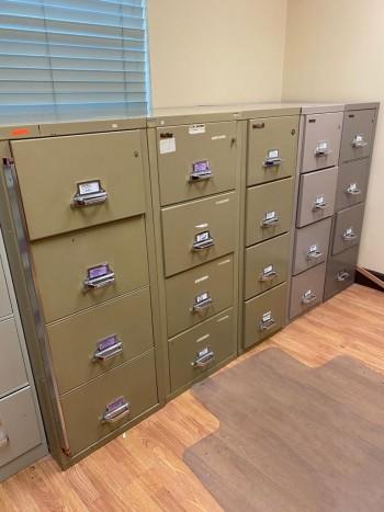 Fireproof File Cabinet