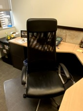 High Back Black Chair