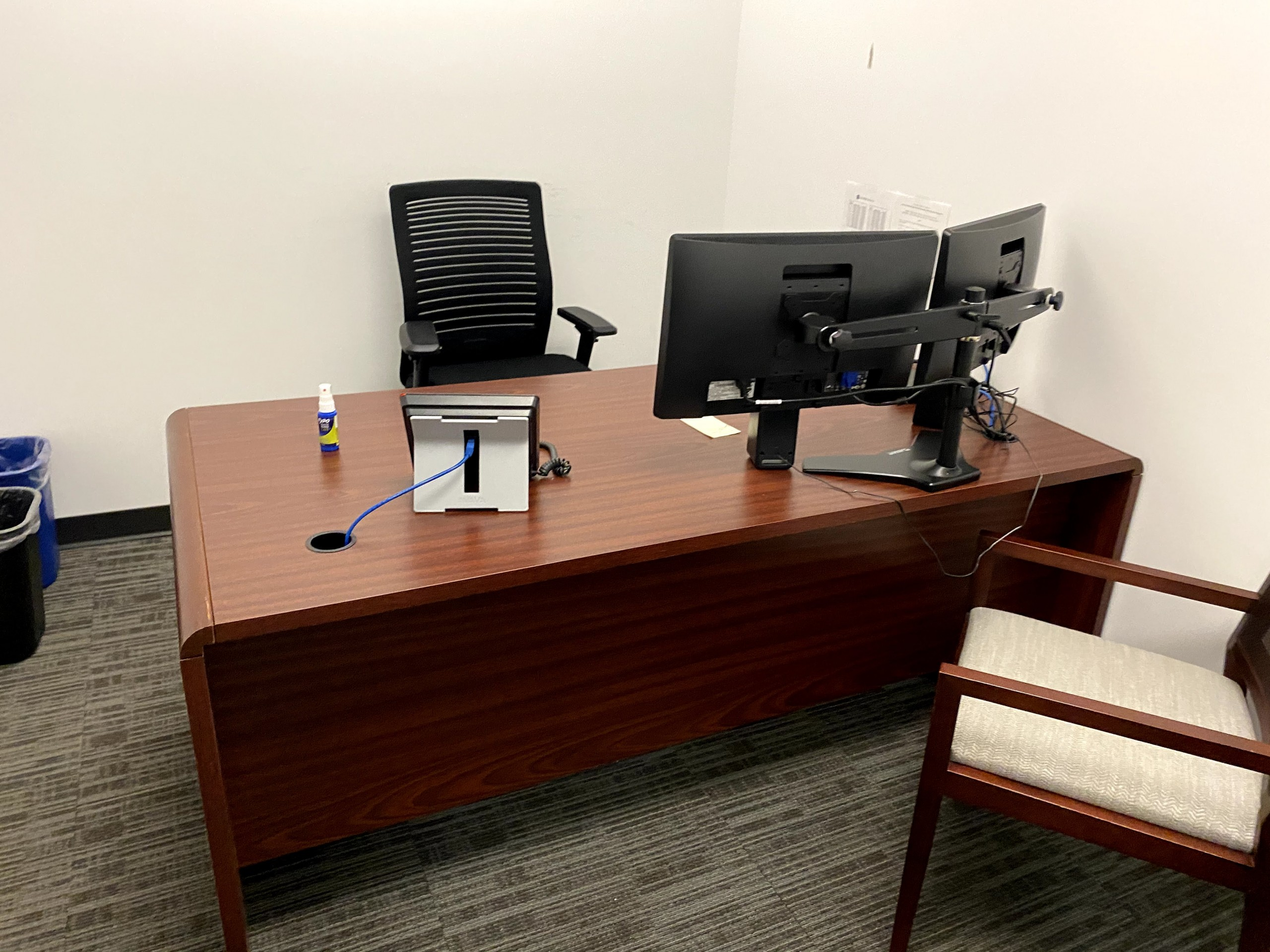 Office Desk with Rounded edge