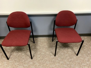 Red Waiting Chairs
