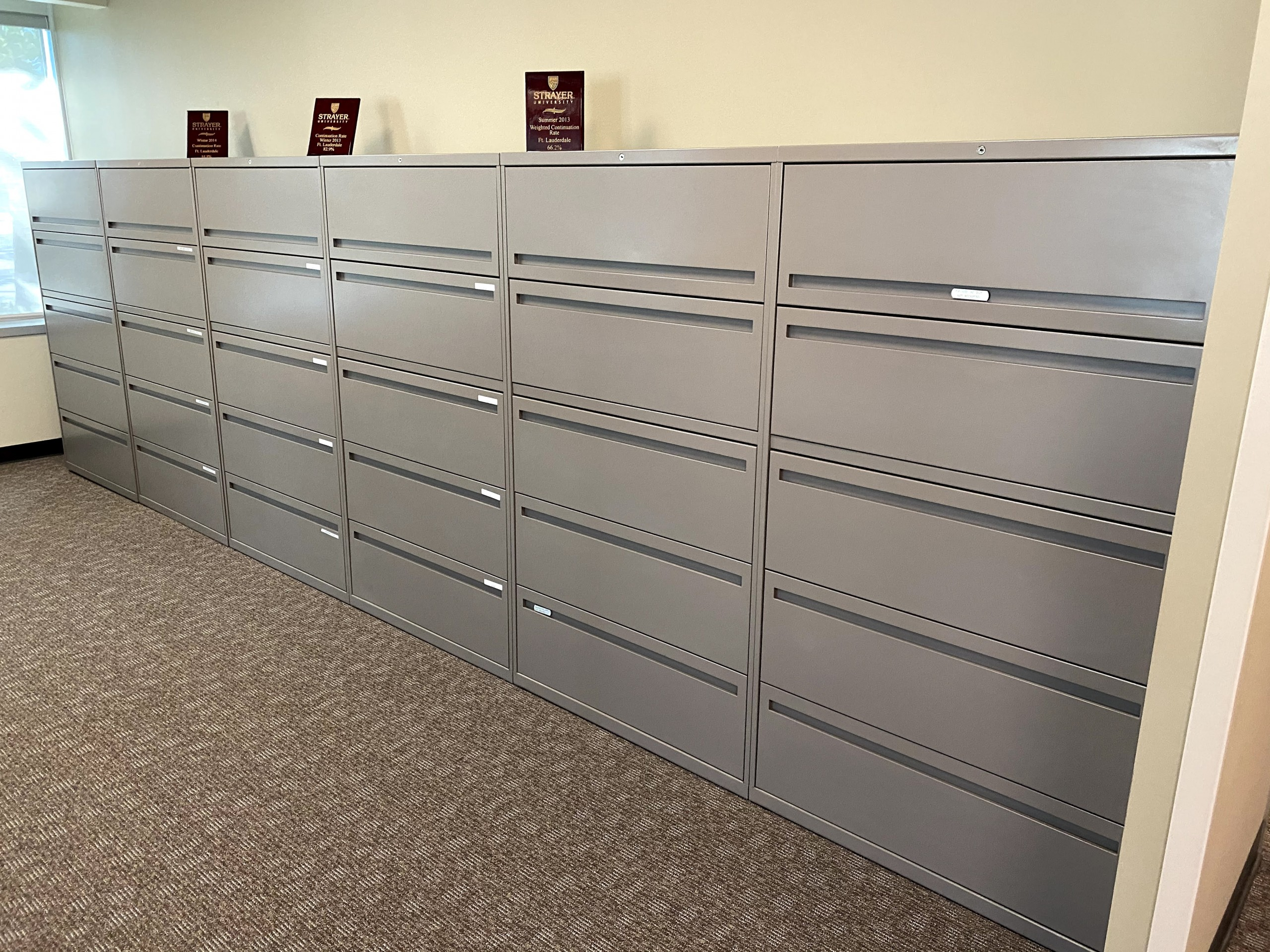 5-Drawer File Cabinets