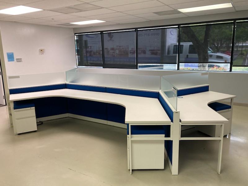 Herman Miller Canvas Benching System